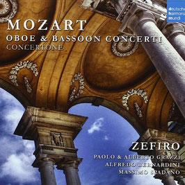 Wolfgang Amadeus Mozart: Oboe & Bassoon Concerti, Concertone (Deutsche Harmonia Mundi)