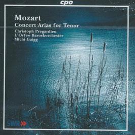 Wolfgang Amadeus Mozart: Concert Arias for Tenor (CPO)
