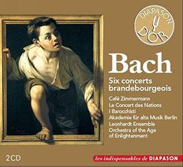 Johann Sebastian Bach: Six concerts brandebourgeois (2CD, Diapason)