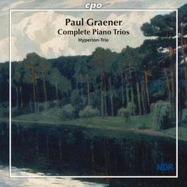 Paul Graener: Complete Piano Trios (CPO)
