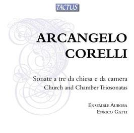 Arcangelo Corelli: Sonate a tre da chiesa e da camera, Church and Chamber Triosonatas (2CD, Tactus)