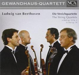 Ludwig van Beethoven: Die Streichquartette op. 59/2, op. 74 (NCA Classical)