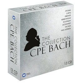 Carl Philipp Emanuel Bach: The CPE Bach Collection (13CD, Warner)
