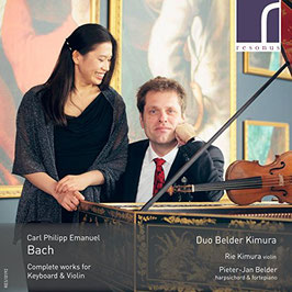Carl Philipp Emanuel Bach: Complete Works for Keyboard & Violin (2CD, Resonus)