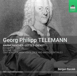 Georg Philipp Telemann: Harmonischer Gottes-Dienst volume 6 (Toccata)