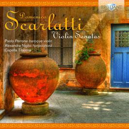 Domenico Scarlatti: Violin Sonatas (Brilliant)