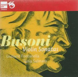 Ferruccio Busoni: Violin Sonatas (Newton)