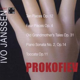 Sergei Prokofiev: Ten Pieces Op. 12, Four Pieces Op. 4, Old Grandmother's Tales Op. 31, Piano Sonata No. 2, Toccata Op. 11 (VOID)