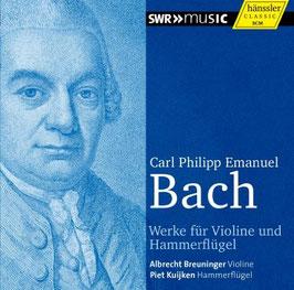 Carl Philipp Emanuel Bach: Werke für Violine und Hammerflügel (Hänssler)