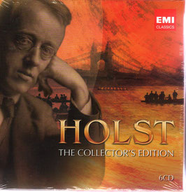 Gustav Holst: The Collector's Edition (6CD, EMI)