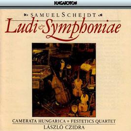 Samuel Scheidt: Ludi Symphoniae (Hungaroton)