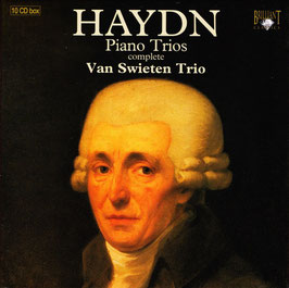Joseph Haydn: Complete Piano Trios (10CD, Brilliant)