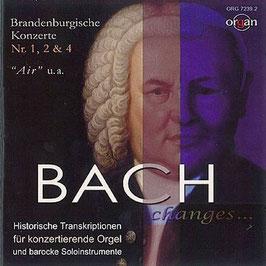 Johann Sebastian Bach: Brandenburgische Konzerte, Air, Historische Transkriptionen für konzertierende Orgel und barocke Soloinstrumente  (IFO)