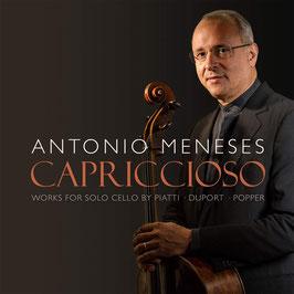 Capriccioso, Works for Solo Cello by Piatti, Duport, Popper (Avie)