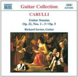 Ferdinando Carulli: Guitar Sonatas Op. 21 (Naxos)