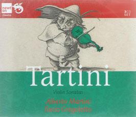 Giuseppe Tartini: Violin Sonatas (3CD, Newton)