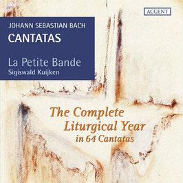 Johann Sebastian Bach: The Complete Liturgical Year in 64 Cantatas (19CD, Accent)