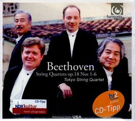 Ludwig van Beethoven, Wolfgang Amadeus Mozart: String Quartets op. 18 Nos. 1-6 (2CD, Harmonia Mundi)
