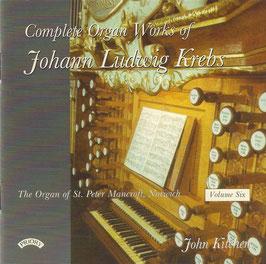 Johann Ludwig Krebs: Complete Organ Works, Volume Six (Priory)