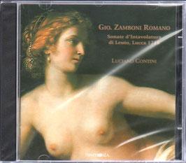 Giovanni Zamboni: Sonate d'intavolatura di Leuto, Lucca 1778 (Symphonia)