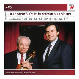 Wolfgang Amadeus Mozart: Isaac Stern & Yefim Bronfman play Mozart, Violin Sonatas K296, 301-306, 376-380, 454, 481, 526, 547 (4CD, Sony)
