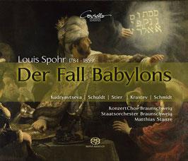 Louis Spohr: Der Fall Babylons (2SACD, Coviello)