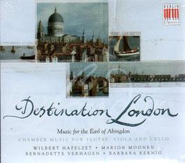 Destination London, Music for the Earl of Abingdom: Stamitz, JC Bach, Haydn, Abel (Berlin)