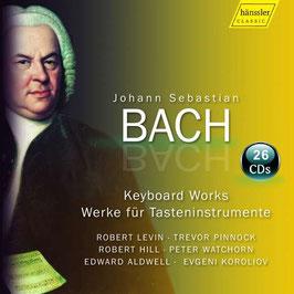 Johann Sebastian Bach: Keyboard Works (complete) (26CD, Hänssler)
