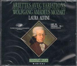 Wolfgang Amadeus Mozart: Ariettes avec Variations pour le clavecin ou piano forte (3CD, Symphonia)