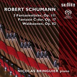Robert Schumann: 3 Fantasiestücke Op. 111, Fantasie C-dur Op. 17, Waldszenen Op. 82 (SACD, Aliud)