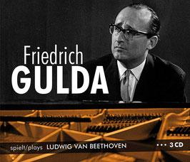 Ludwig van Beethoven: Friedrich Gulda spielt Ludwig van Beethoven (3CD, Membran)