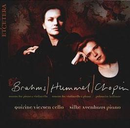 Johannes Brahms: Sonata for piano & violoncello (Etcetera)
