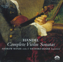 Georg Friedrich Händel: Complete Violin Sonatas (Harmonia Mundi)