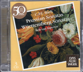 Carl Philipp Emanuel Bach: Prussian Sonatas, Württemberg Sonatas (3CD, Teldec)