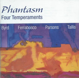 Four Temperaments: Byrd, Ferrabosco, Parsons, Tallis (Avie)