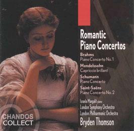 Romantic Piano Concertos: Brahms, Mendelssohn, Schumann, Saint-Saëns (2CD, Chandos)