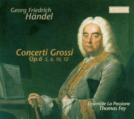 Georg Friedrich Händel: Concerti Grossi Op. 6 (Accent)
