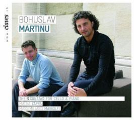 Bohuslav Martinu: The 3 Sonatas for Cello & Piano (Claves)
