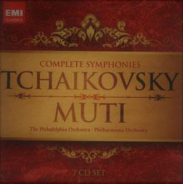 Pyotr Ilyich Tchaikovksy: Complete Symphonies (7CD, EMI)