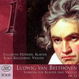 Ludwig van Beethoven: Sonaten für Klavier und Violine, op. 12 (Ars Produktion)