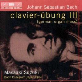 Johann Sebastian Bach: Clavierübung III, German Organ Mass (2CD, BIS)
