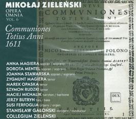 Mikolaj Zielenski: Opera Omnia vol. 6, Offertoria Totius Anni 1611 (Dux)