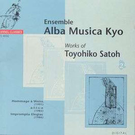 Toyokiho Satoh: Works (Channel Classics)