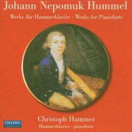 Johann Nepomuk Hummel: Werke für Hammerklavier (Oehms)