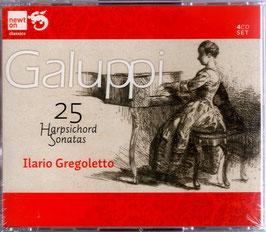 Baldassare Galuppi: 25 Harpischord Sonatas (4CD, Newton)