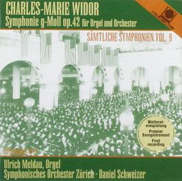 Charles-Marie Widor: Symphonie g-Moll op. 42 für Orgel und Orchester (Motette)