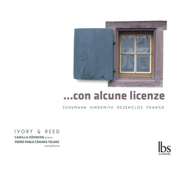 Con alcune licenze: Robert Schumann, Paul Hindemith, Alfred Desenclos, César Franck (IBS)