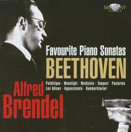 Ludwig van Beethoven: Favourite Piano Sonatas (3CD, Brilliant)