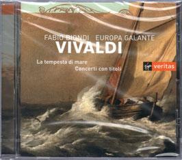 Antonio Vivaldi: La tempesta di mare, Concerti con titoli (Virgin Veritas)