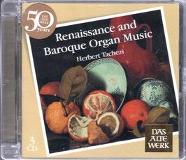 Renaissance and Baroque Organ Music (3CD, Teldec)